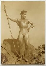 Vintage Male Nude Photo: Denny of San Francisco: Physique Gay Interest