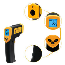 2016 Safety Infrared No Touch Health Handheld LCD Digital Thermometer Laser New
