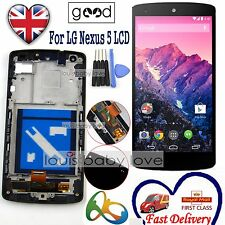 For LG Google Nexus 5 D820 D821 LCD Display Touch Screen Digitizer & Frame Black