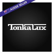 TonkaLux Sticker Decal 30cm Tonka FOR Toyota Hilux Lux 4wd