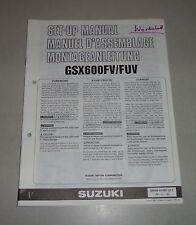 Montageanleitung / Set Up Manual Suzuki GSX 600 F / FU Stand 06/1996