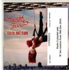 (CH336) Scarlette Fever, Crash & Burn - 2010 DJ CD
