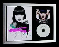 JESSIE J+SIGNED+FRAMED+WHO YOU ARE+PRICE TAG=100% AUTHENTIC+EXPRESS+GLOBAL SHIP