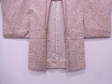 VINTAGE JAPANESE HAORI KIMONO, FLORAL CRAFT MATERIAL, FROM JAPAN, CLOTHING