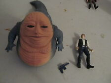 "Star Wars POTF2 Han Solo & Jabba ""Beast Assortment"" COMPLETE MINT"