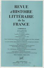 REVUE D'HISTOIRE LITTERAIRE DE LA FRANCE N° 3 JUILLET 2006 CORNEILLE