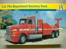 Italieri 3845 los Angeles Fire Department Recovery Truck 1:24 nuevo & OVP
