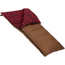 Moose Country Gear Extra-Large, Extra-Long Grande 0° Flannel Sleeping Bag