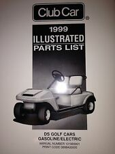 Club Car DS  Illustrated Parts List Manual