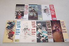 LOT OF 7 LONE WOLF AND CUB COMICS FIRST PUBLISHING #6 thru 11,13 GOOD COND.
