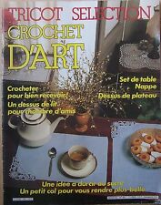 catalogue ancien Tricot sélection crochet d'art n° 85 - 1985