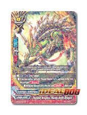 Buddyfight x 4 Thunder Knights, Hardy Knife Dragon [H-BT03/0023EN R] English Min