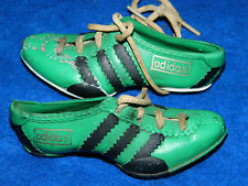 Rare & vintage MINIATURE PAIR of ADIDAS soccer Mini Shoes BASKET MINIATURE