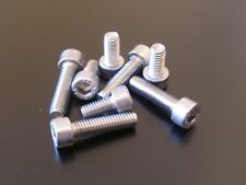 SUZUKI GSXR1000 2001-2004 K1-K4 SILVER STAINLESS STEEL FUEL TANK CAP BOLTS KIT