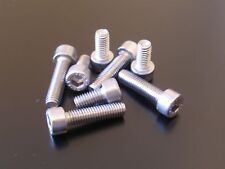 SUZUKI GSF650 BANDIT 2005-2012 SILVER STAINLESS STEEL FUEL TANK CAP BOLTS KIT