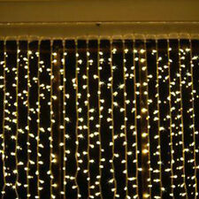 4M Christmas LED String Net Light Outdoor Fairy Party Hotel Decor Curtain Icicle