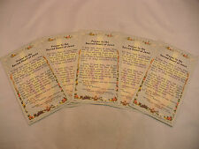 A SET OF FIVE TRADITIONAL ROMAN CATHOLIC HOLY CARDS