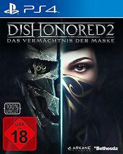 PS4 Dishonored 2 Das Vermächtnis der Maske Day One PS4 Neu