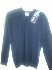 PSC by Cosmex DARK NAVY Military V neck Tactical Commando Sweater XL NEW