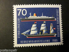 ALLEMAGNE FEDERALE, RFA 1965 TP 345, BATEAUX, TRANSPORTS, SHIPS, neuf** MNH