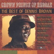 FREE US SH (int'l sh=$0-$3) NEW CD Dennis Brown: Crown Prince: Best of Original