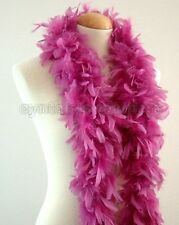 """45g 52"""" long Lilac Purple chandelle feather boa, diva night, dress up, dancing"""