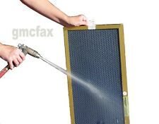 17x22x1 GOLD Electrostatic Furnace Air Filter - Washable Permanent 16.5x21.5x1