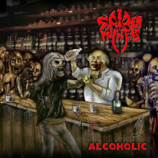 SPIDER KICKERS-ALCOHOLIC-CD-thrash-death-invocator-thanatos-sodom-kreator