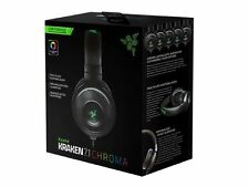 Razer& Kraken 7.1 Chroma Surround Sound USB Gaming Headset with Microphone New