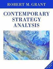Contemporary Strategy Analysis: Text and Cases Edition, 9E by Robert M. Grant