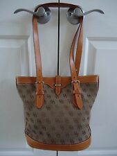 Dooney & Bourke Bucket Handbag Brown