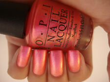 NEW! OPI Nail Polish Lacquer in CAN'T HEAR MYSELF PINK!