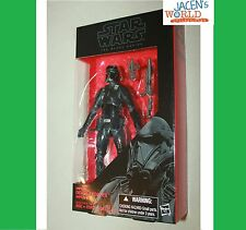 """Imperial Death Trooper Rogue One Action Figure Star Wars Black Series 6"""" Wave 8"""