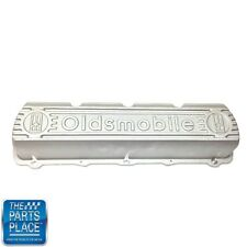 "1964-90 Oldsmobile Valve Cover - ""Oldsmobile"" - Block Letters - Aluminum - Each"