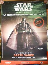 Promotional Poster figure Darth Vader Fener Star Wars the black series Disney AX