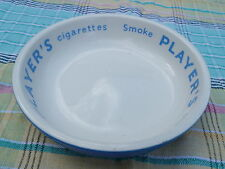 VINTAGE retro players cigarette  ASHTRAY