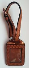 ORIGINAL Alla Pugachova brand Leather Key Chain Pendant Photo frame