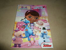 Disney Junior Doc Mc Stuffins Big Fun Book To Color~Made In The USA, Ages 3+~NEW