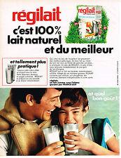 PUBLICITE  1968   REGILAIT   lait écrémé