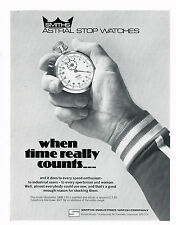 1970's Vintage 1978 Smiths Astral Stop Watch - Paper Print AD
