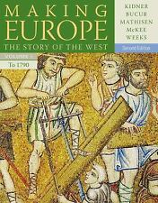 Making Europe Vol. 1 : The Story of the West to 1790 by Sally McKee, Maria...