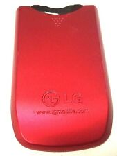 LG KP265 Cellphone Standard Battery Door Back Cover Housing Case Red OEM