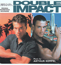 RARE CD Double Impact Soundtrack CD OST Score 1991 Jean Claude Van Damme oop