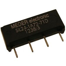 Meder SIL24-1A72-71D Relais 24V 1xEIN 2000 Ohm SIL Reed Relay mit Diode 047180