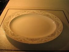 "Royal Doulton DIANA Large 13"" Oval Serving Platter H5079 MINT"