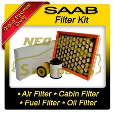 SAAB 9-3 2005 1.9 DIESEL SERVICE KIT FILTER, AIR, OIL, FUEL & CABIN FILTER
