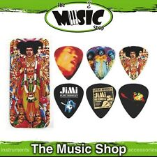12x Dunlop Jimi Hendrix 'Axis:Bold as Love' Collectable Guitar Picks in Pick Tin