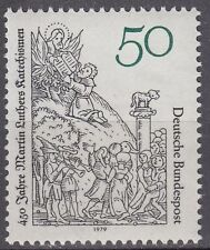 Germany Bund BRD 1979 Mi 1016 **  Gemälde Paintings Cranach Martin Luther