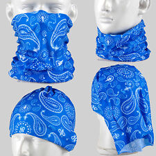Paisley Patter Multi-function Tubu Scarf Bandana Cycling Bicycle Face Mask AA136