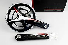 FSA K-FORCE LIGHT BB386 2x10/11s 50x34 172.5mm CARBON Cranks Crankset !! NEW !!